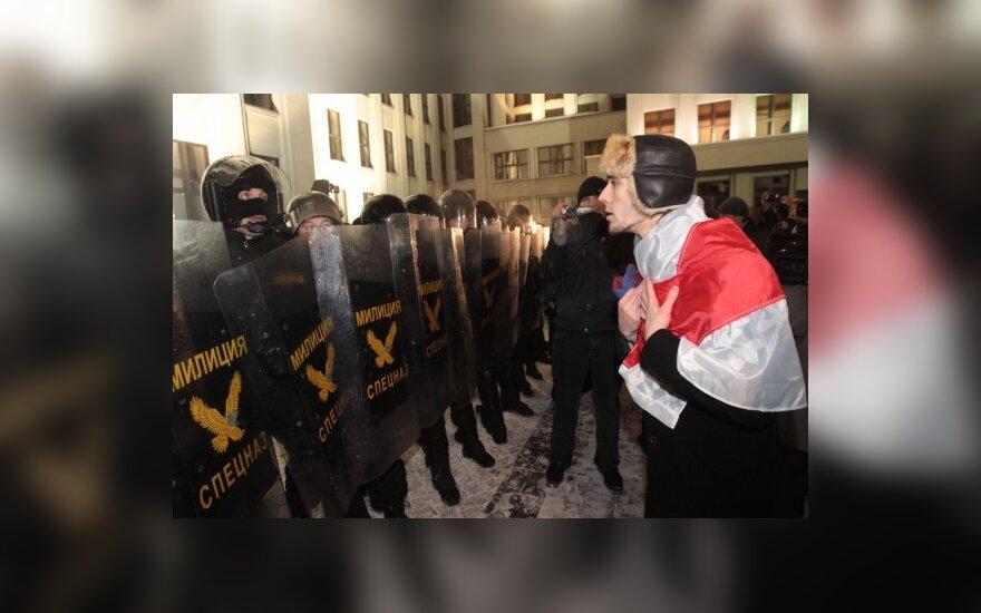 У Литвы вызывает озабоченность применение силы против мирных демонстрантов в Минске