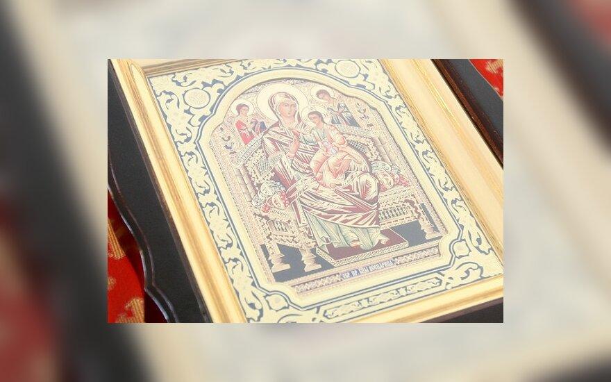 Онкологическому институту подарили чудотворную икону Божьей Матери