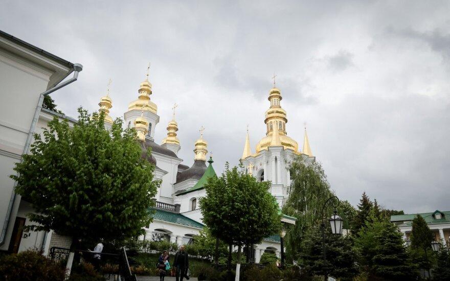 В Киево-Печерской лавре произошёл пожар, есть подозрения о поджоге