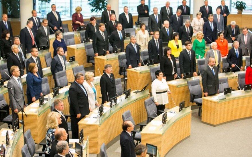 Начинается весенняя сессия Сейма Литвы