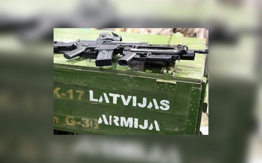 Латвийские солдаты будут тренироваться на Украине и в Грузии