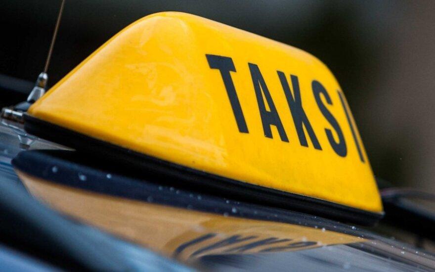 За поездку в такси жительница Вильнюса получила счет 5000 литов