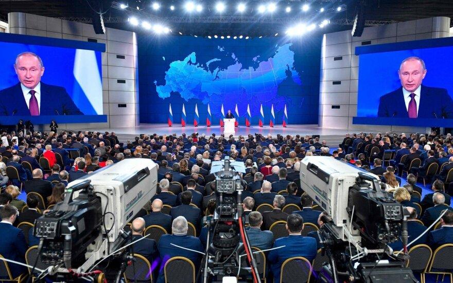 Vladimiro Putino metinis pranešimas
