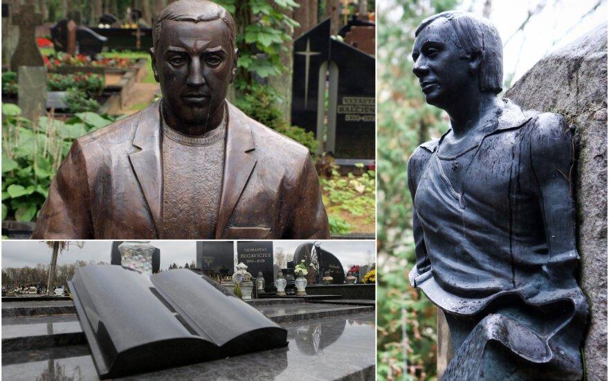 Kriminalinio pasaulio atstovų kapai