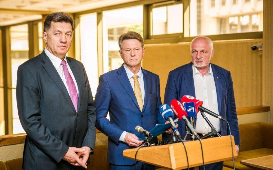 Algirdas Butkevičius, Rolandas Paksas, Valentinas Mazuronis