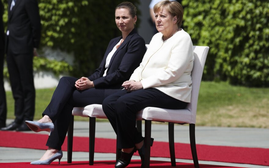 Angela Merkel, Mette Frederiksen