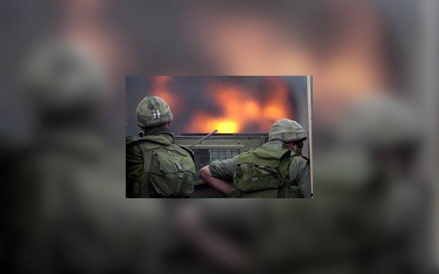 Израиль наказал офицеров за белый фосфор в Газе