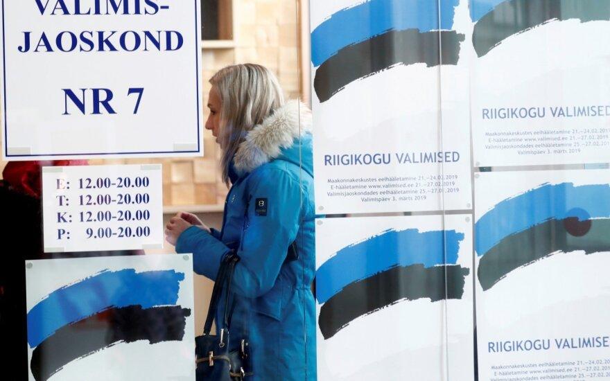 Parlamento rinkimai Estijoje