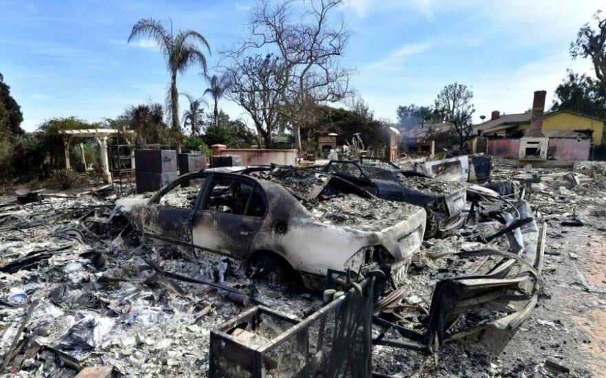 Более 600 человек в Калифорнии числятся пропавшими без вести из-за пожара