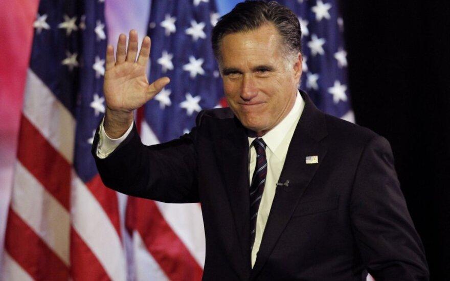 M.Romney po pralaimėjimo