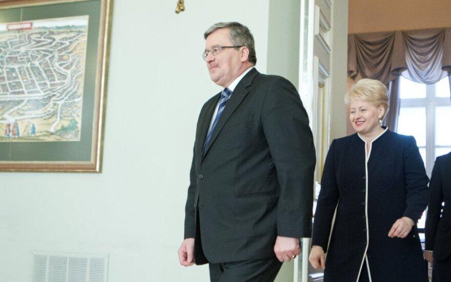 Polskie media: Postawa Grybauskaite to bojkot