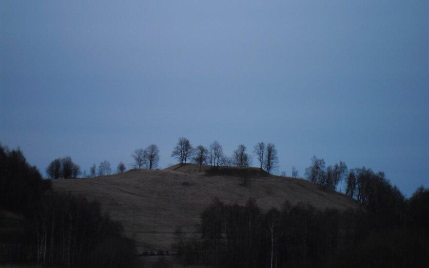 Литовские археологи надеются, что найдено место легендарного замка Пиленай