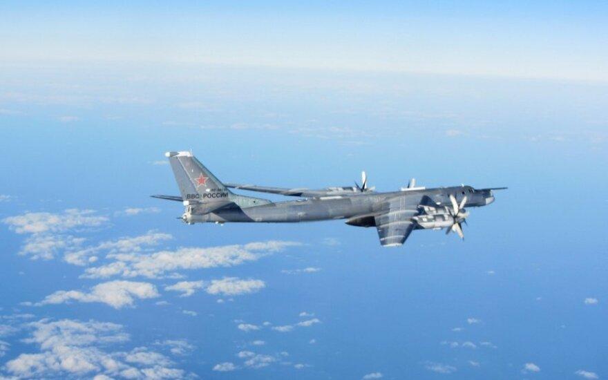 Активность российских военных самолётов у Балтийских стран снизилась