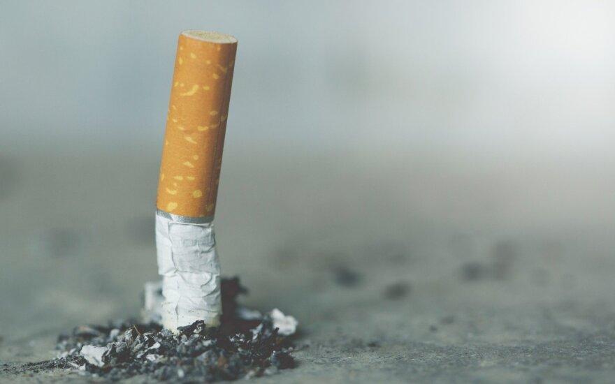 Глава Минфина Литвы: привычка курить будет обходиться все дороже