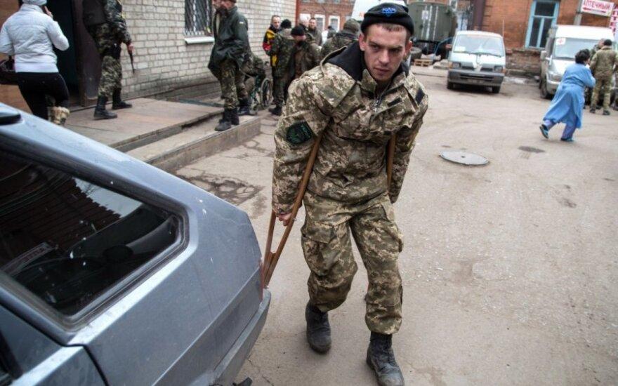 В Литву на лечение прибыли еще пять украинских военных
