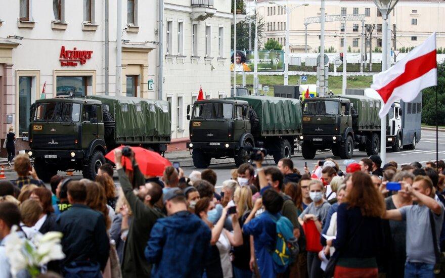На акции в Минске задержаны студенты