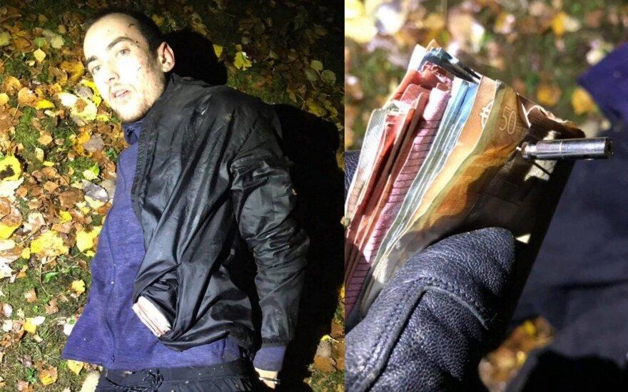 В Вильнюсе полиция задержала подозреваемого в распространении наркотиков мужчину