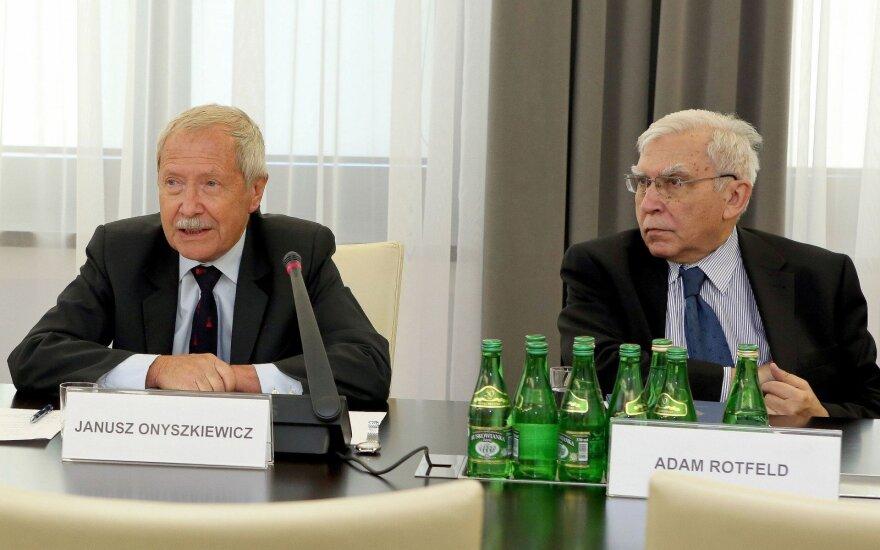 Janusz Onyszkiewicz: Potrzebujemy strefy Schengen o charakterze wojskowym