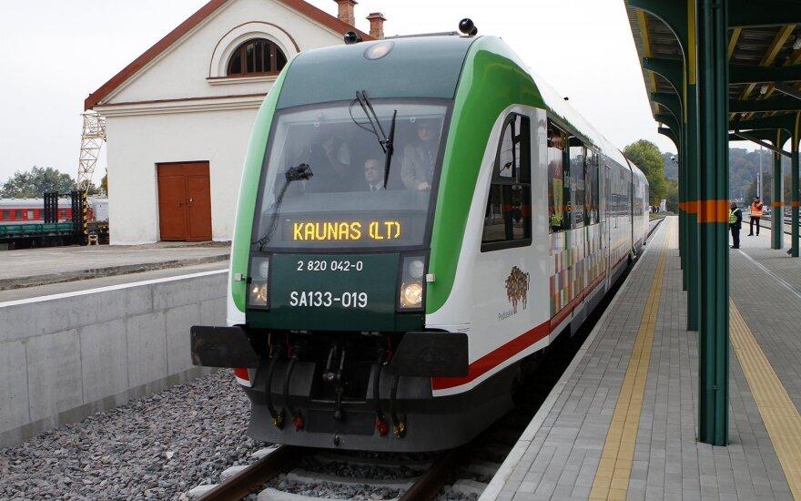 """""""Rail Baltica"""" atidarymas: pirmieji maršrutai - jau šiemet"""