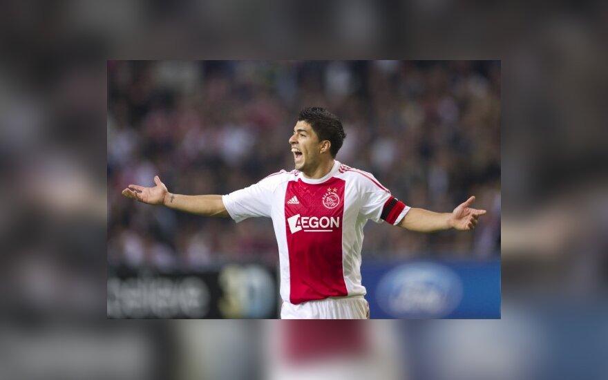 """Luisas Suarezas (""""Ajax"""")"""