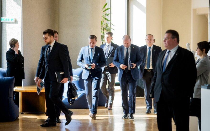 Правительство Литвы сегодня собирается на внеочередное заседание