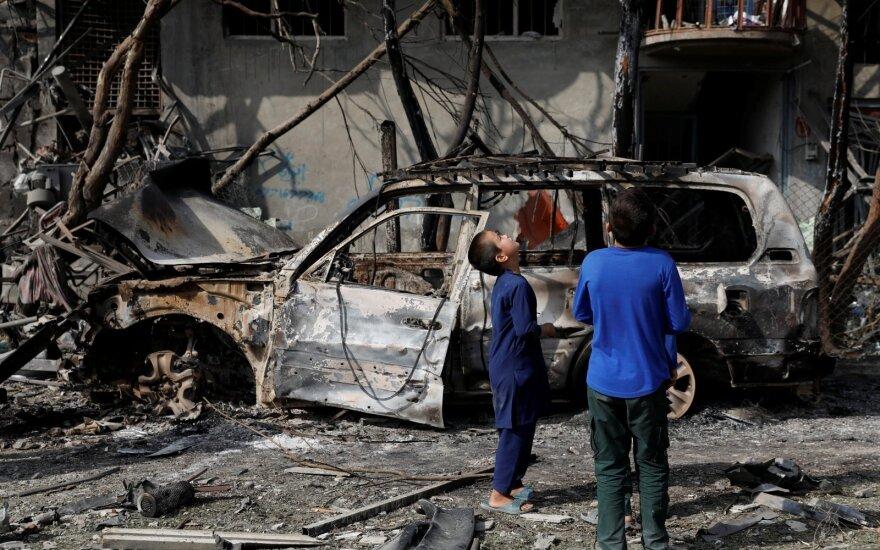 Afganistane sprogus numanomai Talibano minai žuvo mažiausiai 32 žmonės