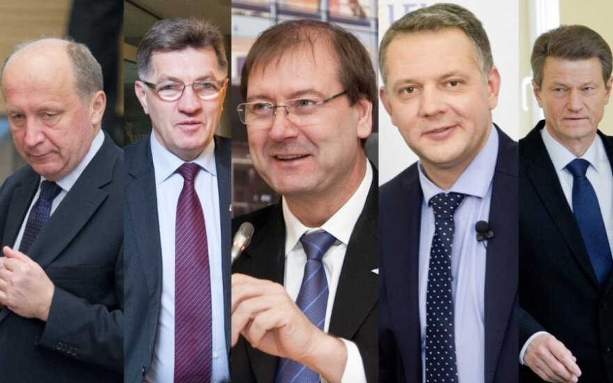 Andrius Kubilius, Algirdas Butkevičius, Viktor Uspaskich, Eligijus Masiulis, Rolandas Paksas