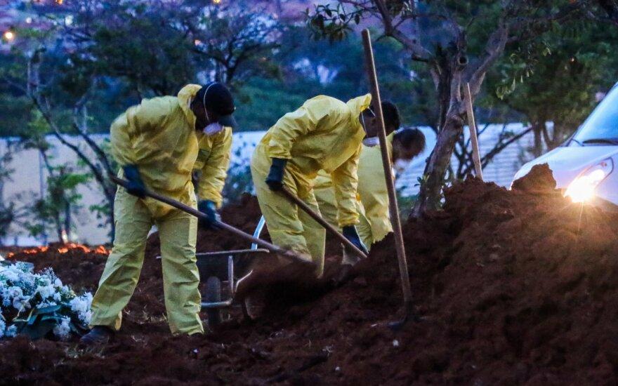 В Бразилии самый высокий суточный показатель смертности за минувшие сутки