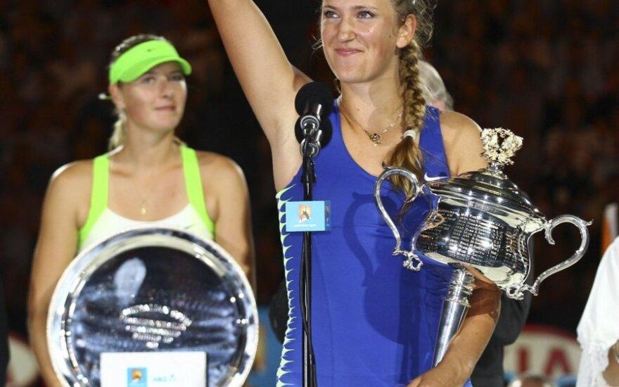 """Australian Open"" finale - Viktorijos Azarenkos triumfas"