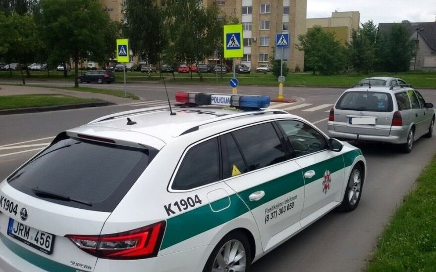 В автомобиле каунасца полиция обнаружила 4 кг амфетамина