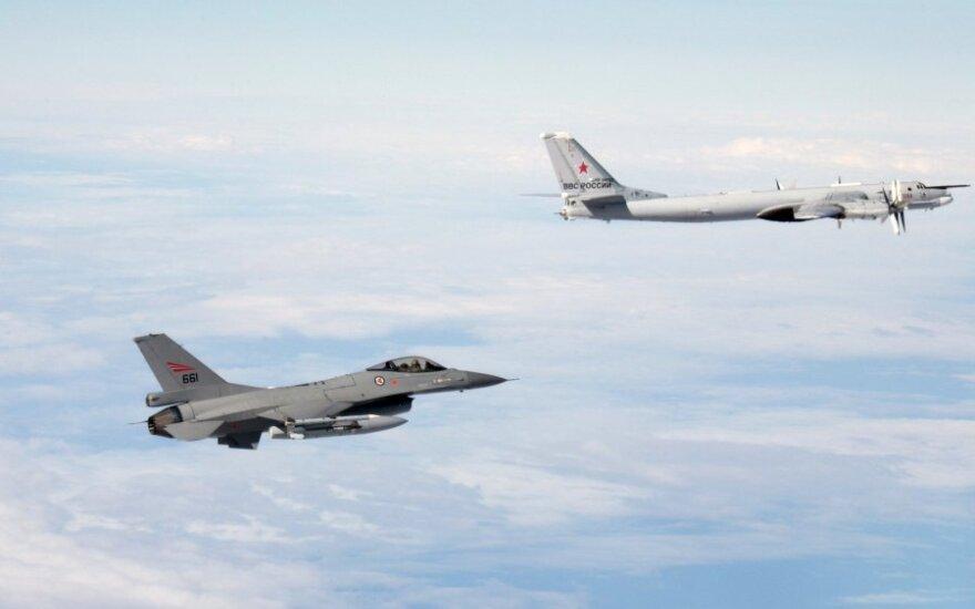 Истребители НАТО сопроводили над Балтикой пять российских бомбардировщиков