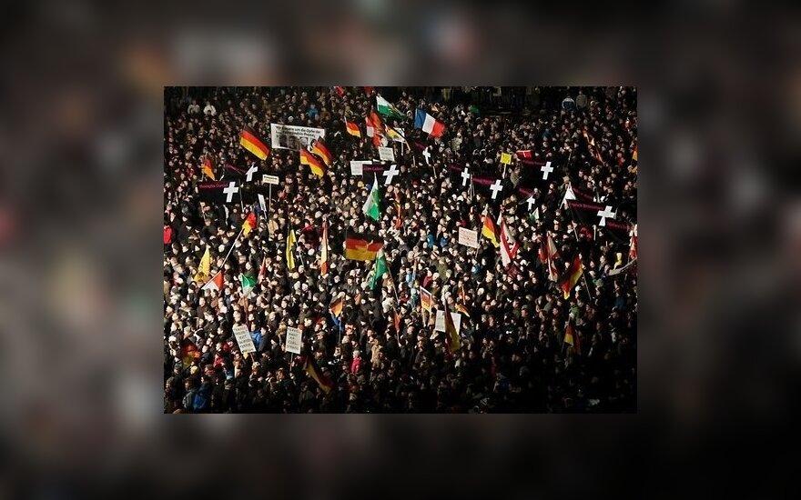 В Германии прошел новый марш против исламизации Европы