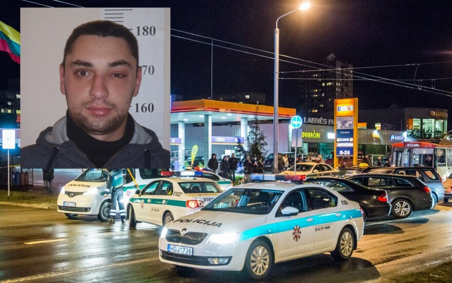 """Iš policijos automatą """"Kalašnikov"""" atėmęs vyras spruko, iškviestos sustiprintos pajėgos"""
