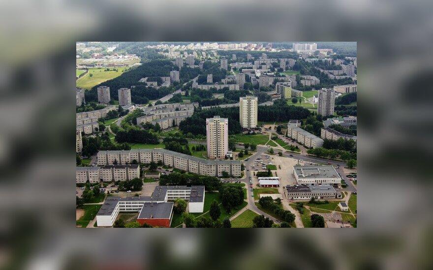В Вильнюсе из окна на 4 этаже выпрыгнул молодой человек