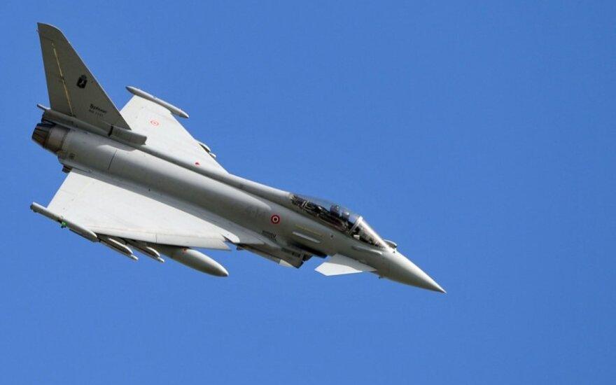 Со следующей недели небо Балтии будут охранять истребители ВВС Германии
