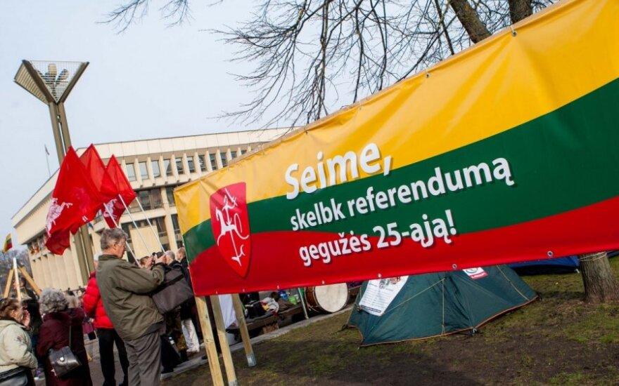 Инициаторам референдума – удар в Сейме
