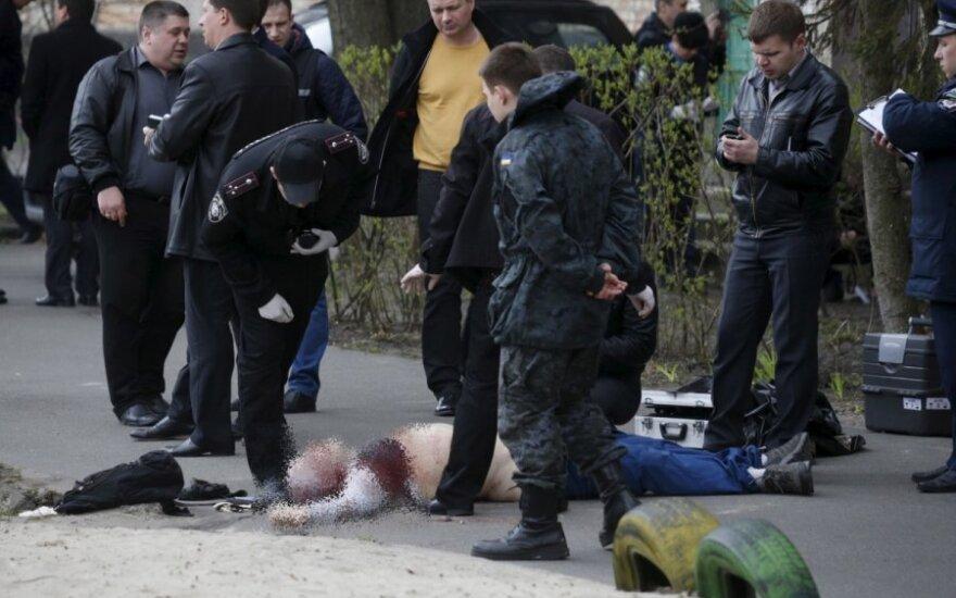 Ukrainoje nužudytas žurnalistas