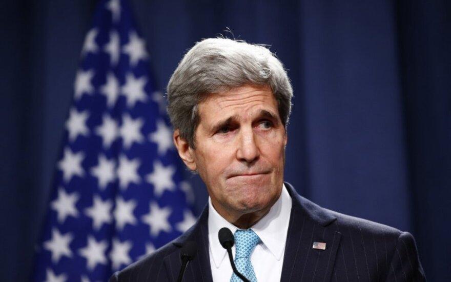 СМИ: Израиль прослушивал телефонные разговоры Керри