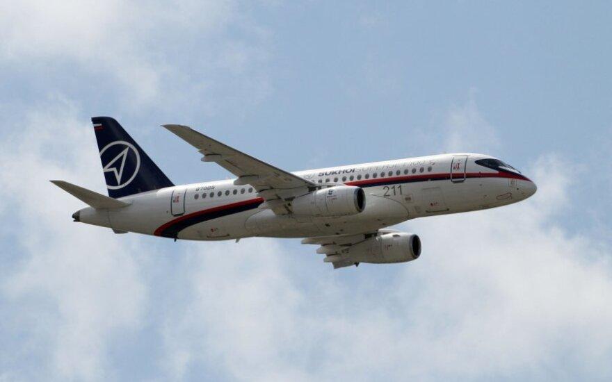 Lėktuvas Sukhoi Superjet 100