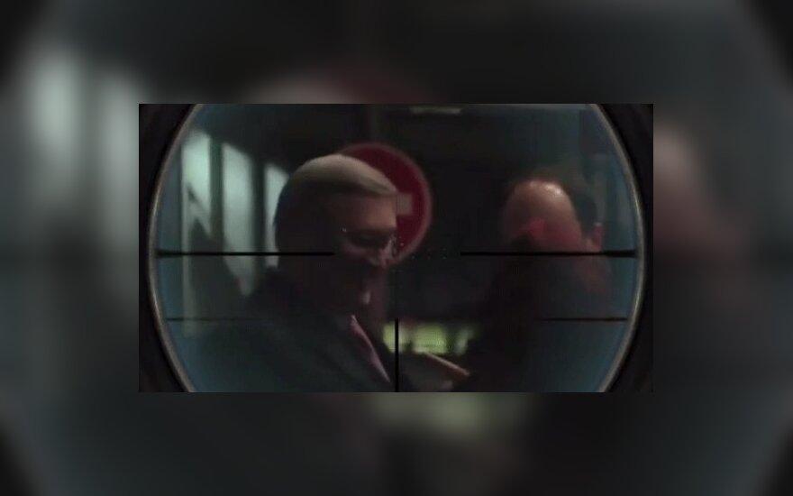 Кадыров опубликовал видео с Касьяновым в прицеле снайперской винтовки