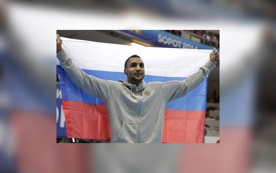 Впервые темнокожий атлет принес России золото чемпионата мира