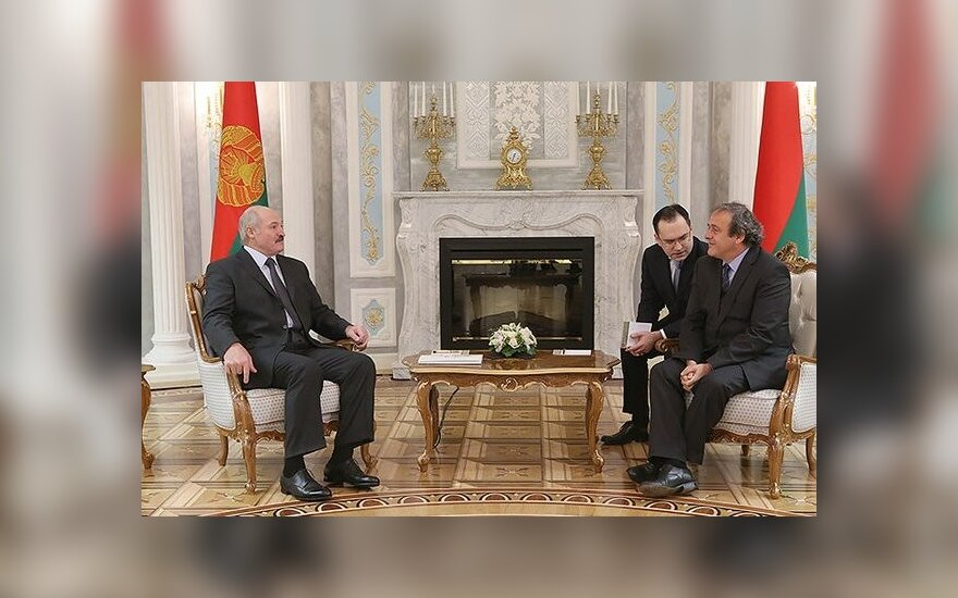 Лукашенко: Беларусь рассчитывает на проведение крупных соревнований по футболу