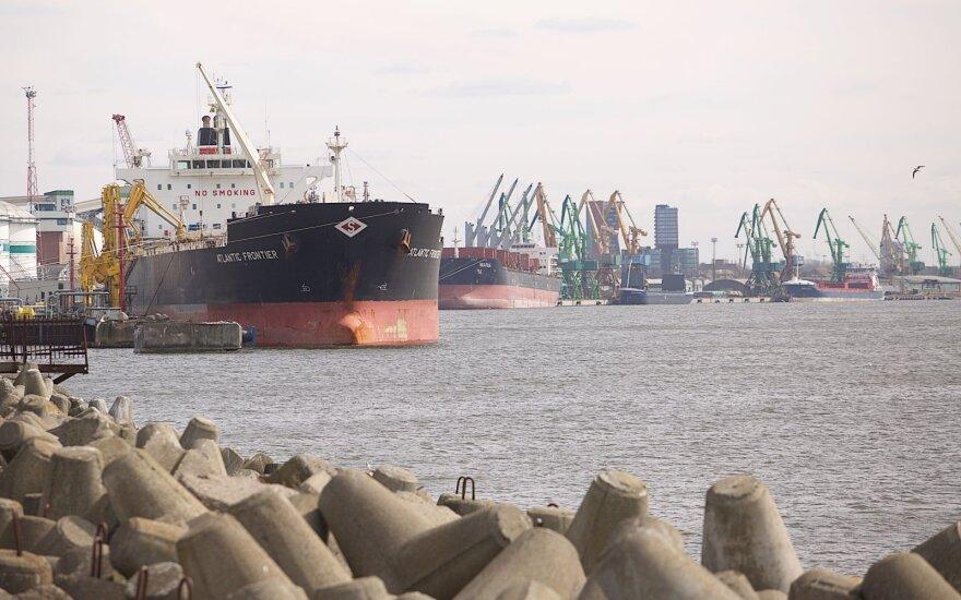 """""""Шансы есть всегда"""": Клайпедский порт видит возможность перенять часть грузов у Вентспилсского"""