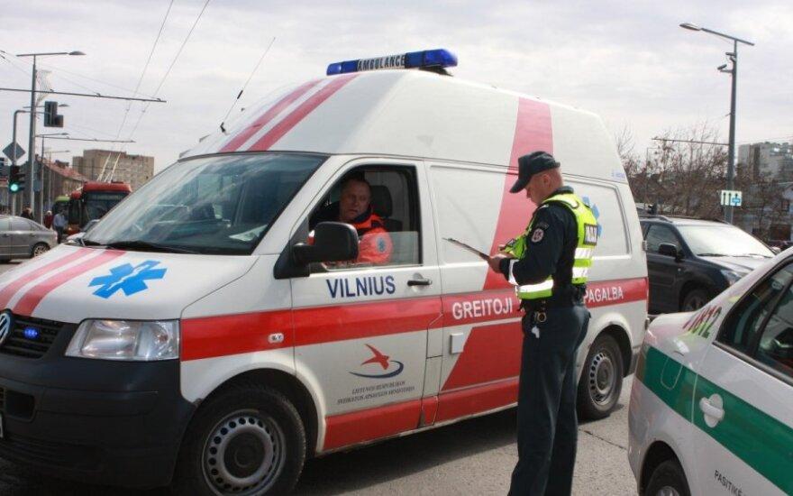 Полицейские: раненая в Алитусе женщина еще успела позвонить по номеру 112