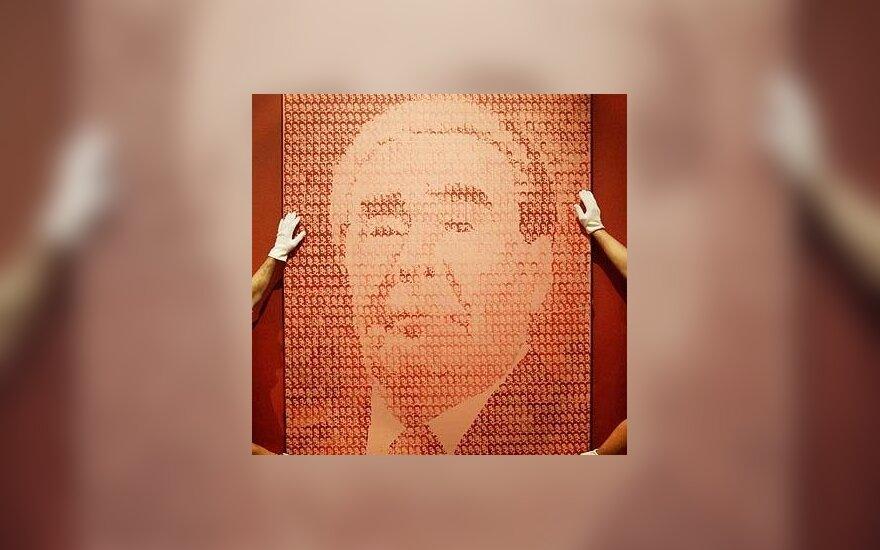 Leonido Brežnevo portretas