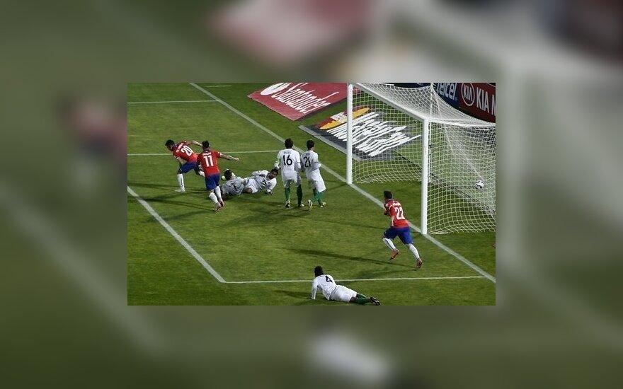 У боливийцев отобрали четыре очка в отборе ЧМ-2018
