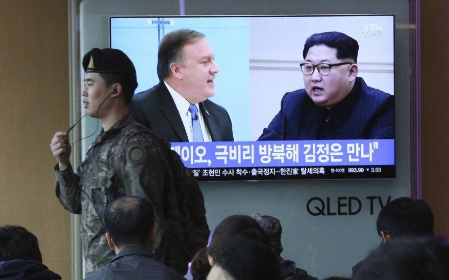 Mike'as Pompeo, Kim Jong Unas