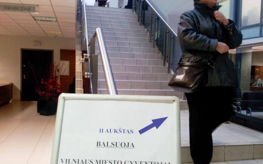 В Литве началось предварительное голосование