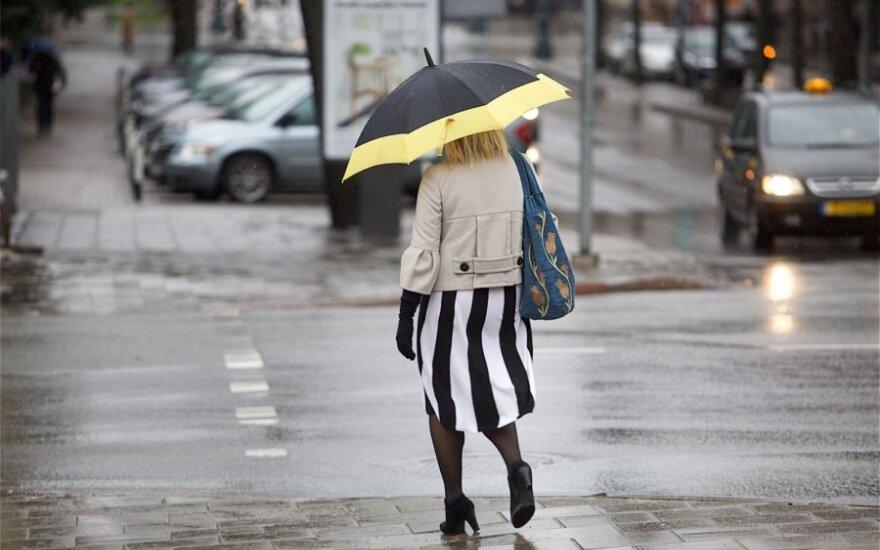 Ожидается переменчивая погода: будет идти мокрый снег с дождем