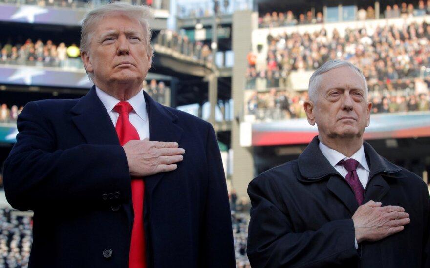 Jimas Mattisas, Donaldas Trumpas